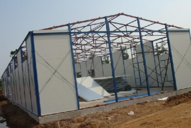 轻钢结构活动板房的优势简介